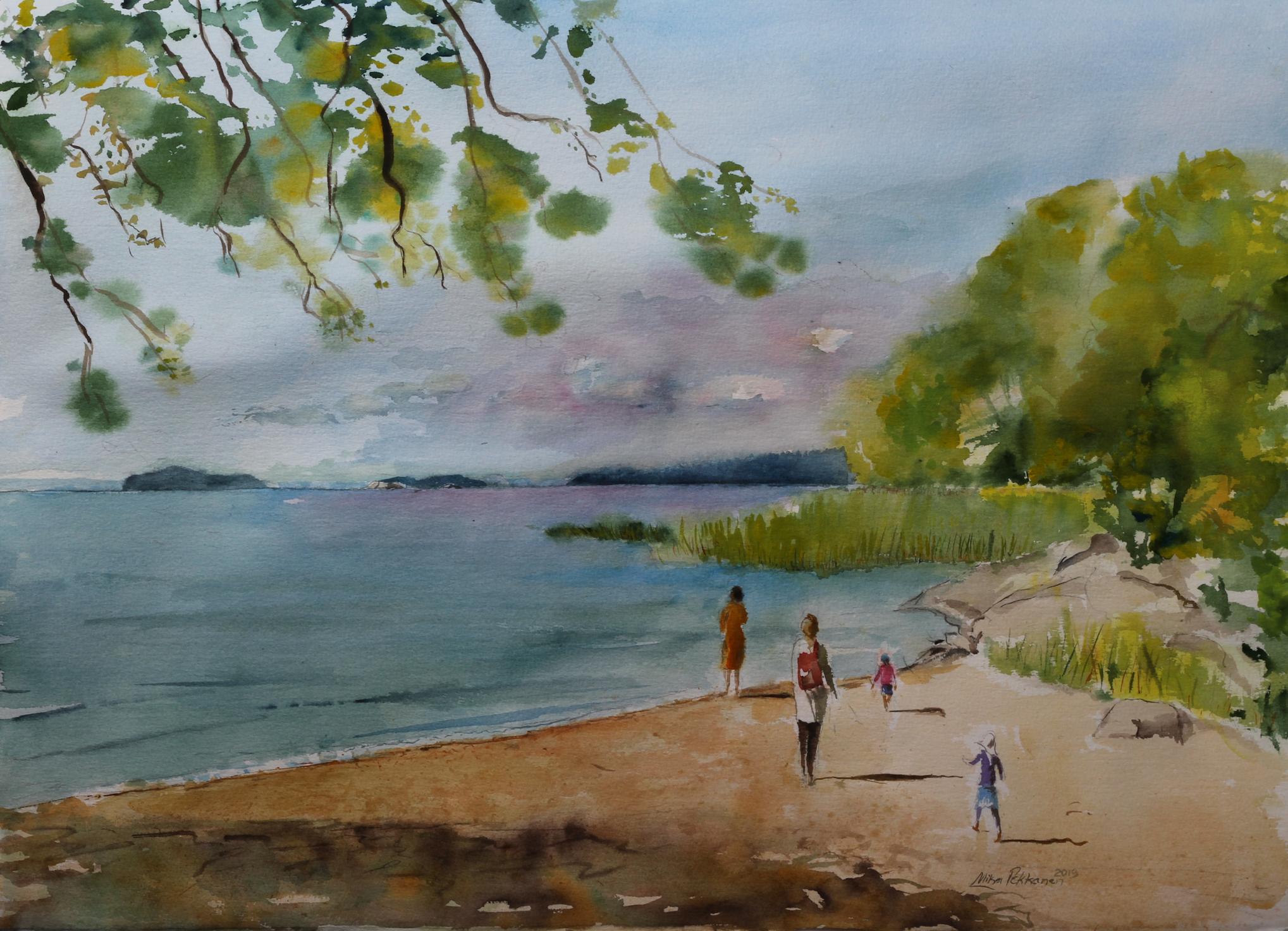 IWS FINLAND 1. Kansainvälinen akvarellitaiteen näyttely-ja festivaali